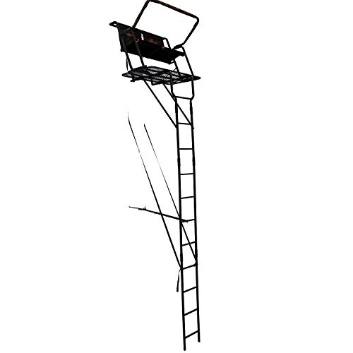 BIG GAME LS4950 Spector XT Tree Stand, 17' Two Person Ladder...