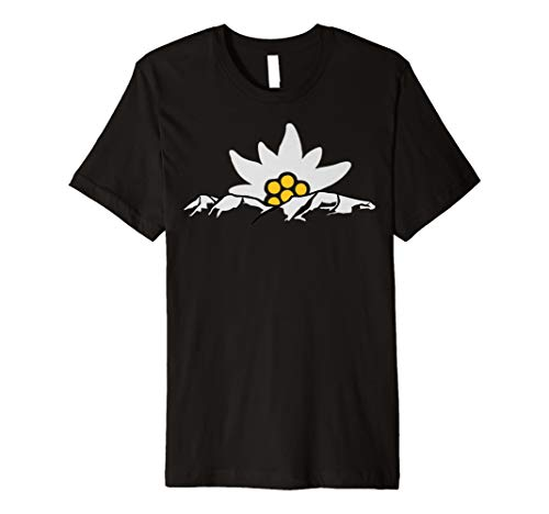 Hochgrat Allgaeu Mit Edelweiss Tshirt