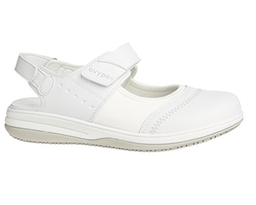 Oxypas Melissa, Women's Safety Shoes, White (Wht), 5 UK (38 EU)