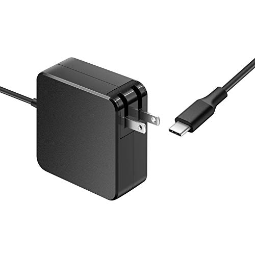 65W 45W Type C Charger fit for Razer Blade Stealth 13.3', Razer Blade Stealth 13 15 Laptop Power Adapter Supply Cord (USB-C Connector), Passed UL Certification