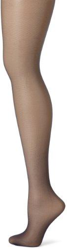 Hanes Women's Control Top Sheer Toe Silk Reflections Panty Hose, Classic Navy, C/D