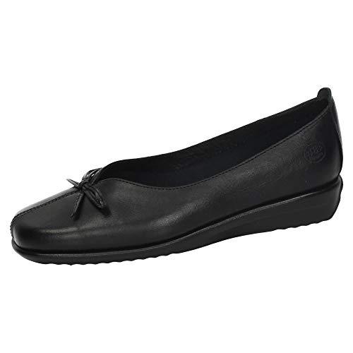 48 HORAS 110401/01 Manoletinas DE Piel Mujer Zapatos MOCASÍN Negro 39