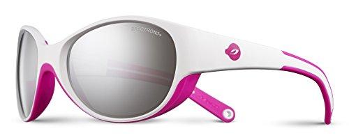 Julbo Lily - Gafas de Sol para niña, Lily, Color Blanc/Rose Fluo, tamaño Talla única