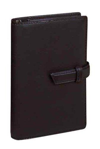 レイメイ藤井 システム手帳 ダヴィンチ オイルレザー ポケット ブラック DP802B
