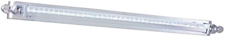 Spiegel Front-LED 9 W 12 W Wasserdicht Beschlagfrei Bad WC Spiegel Leuchten Wandleuchte europischen Einfache, moderne Edelstahl Licht Krper Spiegelschrank Lampen (weies Licht) (Gre  42