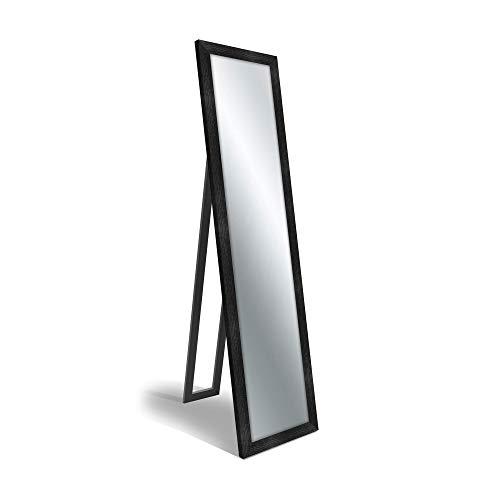 Specchio da terra FLOOR MIRROR 40X160 cm BOSTON SHABBY BLACK