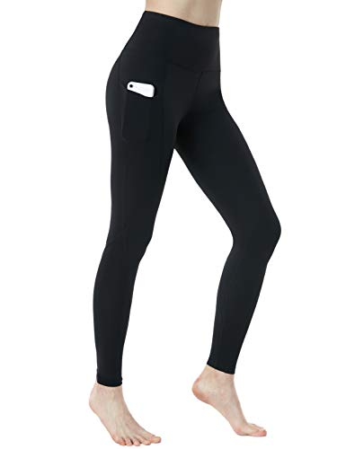 TSLA Yoga Pants Leggings Mid-Waist/High-Waist...