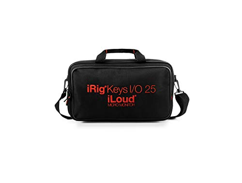 IK Multimedia iRig Keys I/O 25 & iLoud Micro Monitors - Travel Bag 純正ポータブル・バッグ【国内正規品】