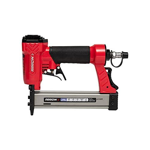 Arrow PT23G Pneumatic 23 Gauge Pin Nailer, Black/Red