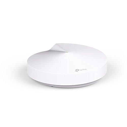 TP-Link Deco M5 (1-pack), Sistema Wifi Para Toda La Casa, DC-in Jack, USB Type-C, Tamaño Único, Blanco