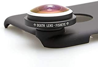 Death Lens iPhone X Fisheye 200 Degree Professional Photo HD - Perfect for Skateboarding, Snowboarding, Skiing, and Traveling