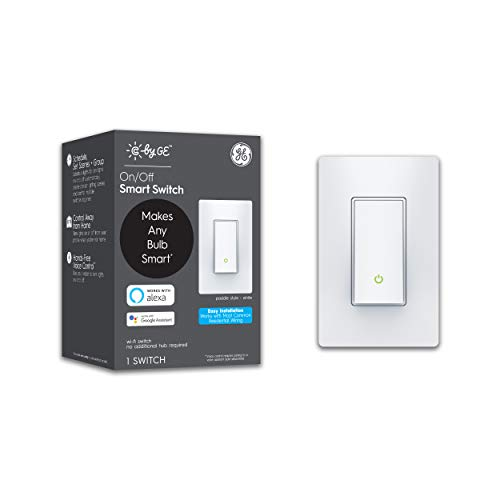 of ge video converters dec 2021 theres one clear winner C by GE 3-Wire On/Off Paddle Style Smart Switch, Alexa and Google Home Compatible Without Hub, Bluetooth/Wi-Fi Switch, Single-Pole/3-Way Smart Switch, White, 1-Pack (Packaging May Vary)