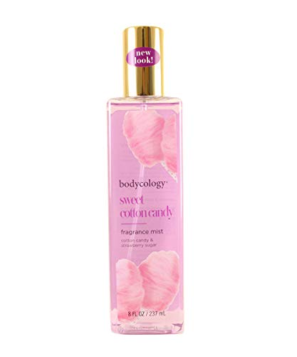 Bodycology Sweet Cotton Candy Fragrance Mist for Women, 8 Ounce