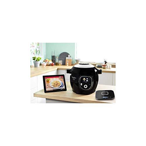 Moulinex Multicuiseur Intelligent Cookeo+ Connect Grameez via Application Bluetooth 6L 6 Modes de Cuisson 150 Recettes Préprogrammées Jusquà 6 Personnes + Balance de cuisine incluse Noir CE856800
