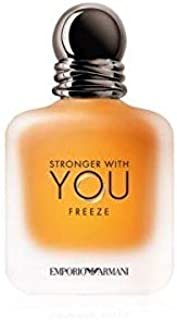 GIORGIO ARMANI Stronger with You Eau DE Toilette POUR Homme Freeze 50ML VAPORIZADOR Unisex Adulto Negro Único