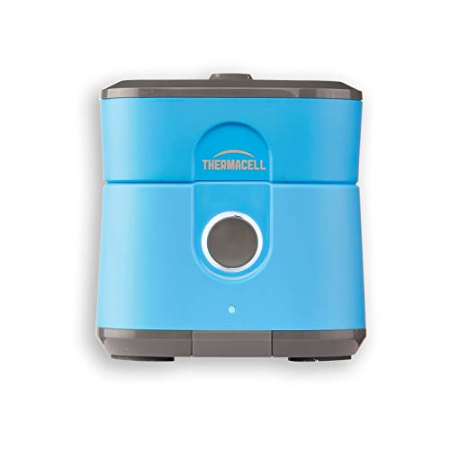 Radius Zone Mosquito Repellent from Thermacell, Gen 2.0, Blue; No Spray Mosquito Repellent; Rechargeable; Protect Outdoor Areas from Insects for 6.5+ Hours Per Charge; Easy to Use, Scent and DEET-Free