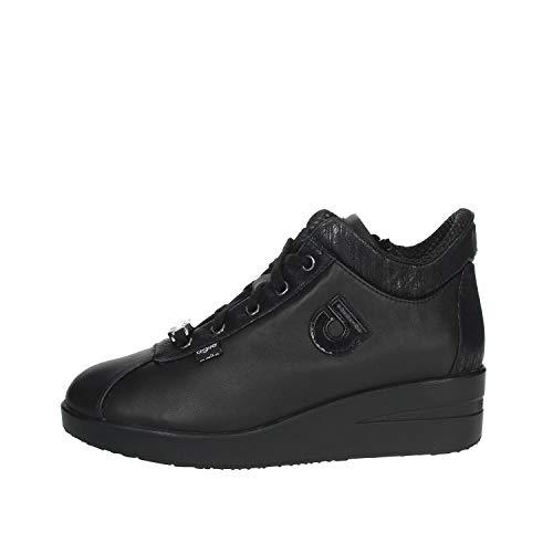 Rucoline Agile 226 Sneakers Zeppa Donna Nero 37