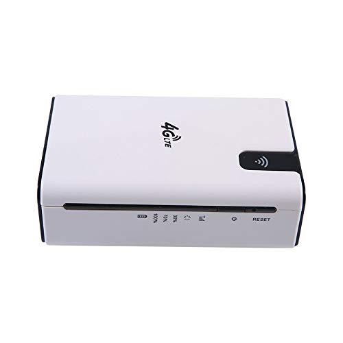 8Eninite Bianco Senza Fili di Ricarica della Carta di Internet Mobile del Router WiFi Portatile 4G Senza Fili