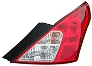 Fits 2012-2018 Nissan Versa Rear Tail Light Passenger Side NI2801194 For Sedan - replaces 26550-3AN0A