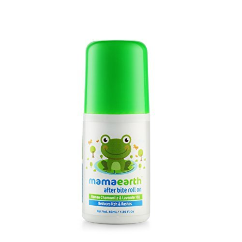 Mamaearth After Bite Roll On for rashes & Mosquito Bites with Lavander & Witchhazel 40 ml