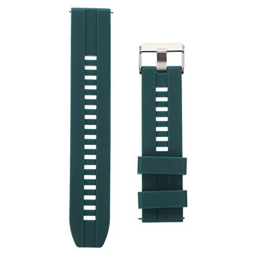 UKCOCO Correa de Reloj Compatible para Xiaomi Mibro Air- Watch Correa de Repuesto de Silicona Reloj Inteligente de Liberación Rápida Correa de Reloj de Pulsera (20Mm)