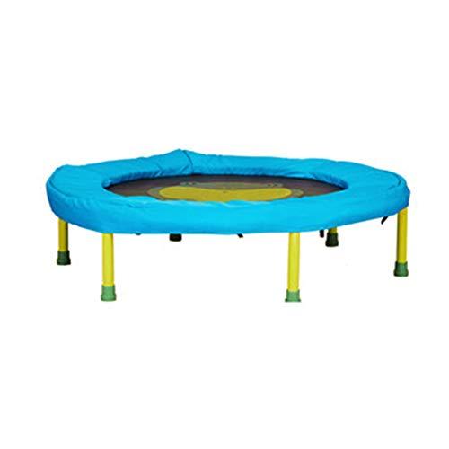 TRAMPOLINE GH- Verwijderbare kinderen, zeshoekige ondersteuning voor veilige en stabiele zuigeling, thuis indoor mini, 2-6 jaar oud, belasting 25kg