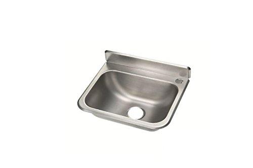 Handwaschbecken Waschbecken Becken aus Chrom-Nickel-Stahl/Edelstahl 37,5 x 33,0 cm *Neu*