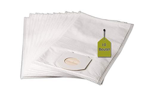 Staubsaugerbeutel passend für Omega Sting 1400 Electronic, 10 Staubbeutel + 1 Mikro-Filter, kompatibel mit Swirl R34