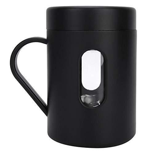 Práctico vaso automático para mezclar de regalo de cumpleaños Hot Coco (negro)