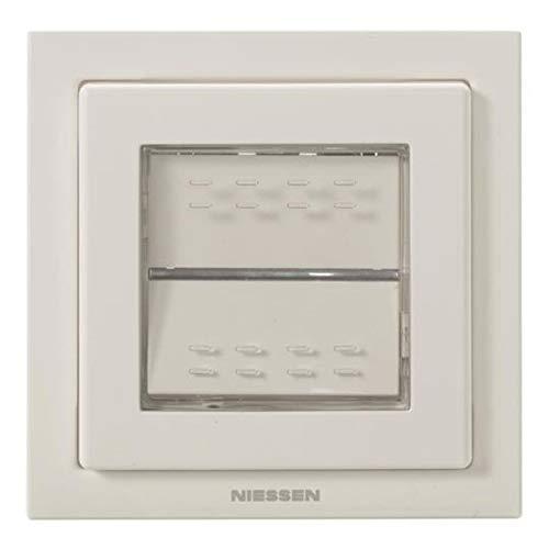 Niessen zenit - Interruptor conmutador empotrar ip55 blanco