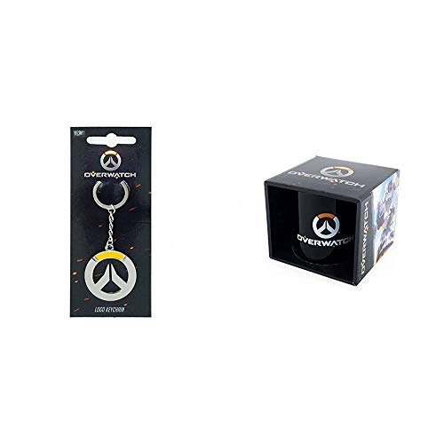 Overwatch Mug Logo & Overwatch Keychain Logo