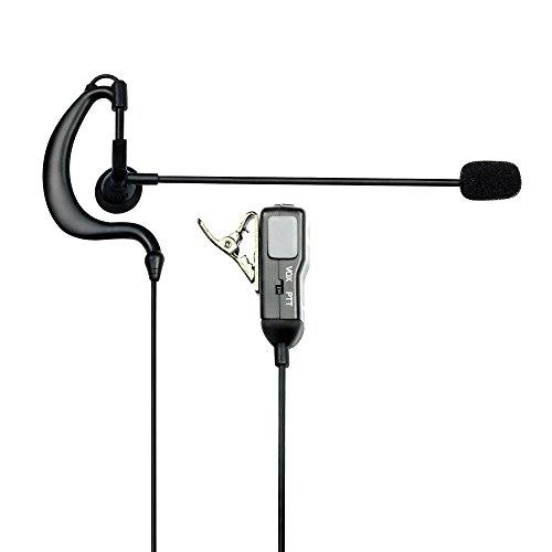 Midland MA30-L Headset mit Ohrpassstück PTT für Funkgeräte