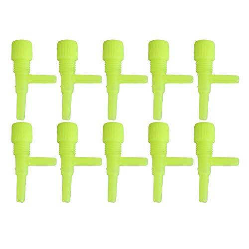 Luftstromregelventil Kunststoff für Aquarium(yellow)