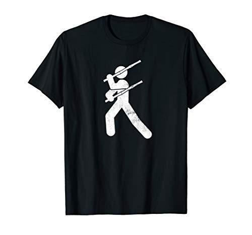 Filipino Martial Art - Eskrima Kali Arnis Stick Man T-Shirt