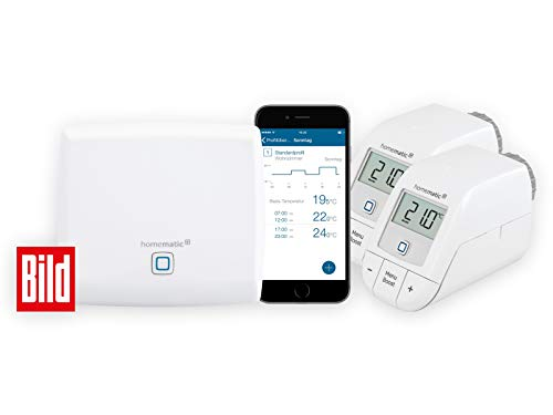 Homematic Smart Home Set verwarming Afbeelding set verwarmen Standard wit