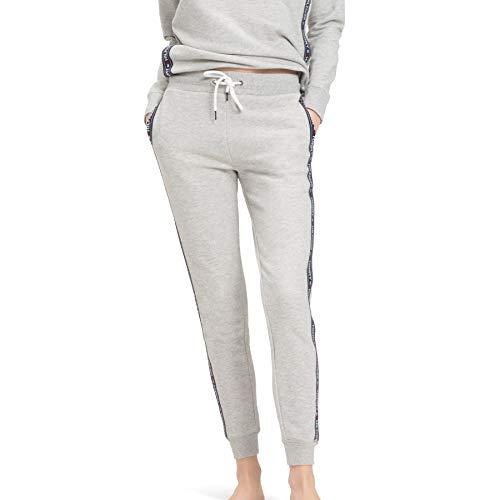 Tommy Hilfiger Damen Trainingshose , Grau (Grey Heather 004), Large