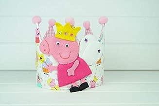 Corona Cumpleaños Peppa Pig: Amazon.es: Handmade