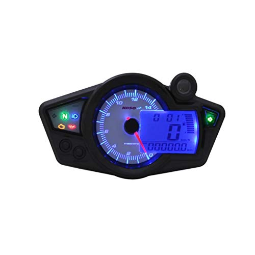 Tacho KOSO Digital Cockpit RX1N, Display weiss , blau beleuchtet