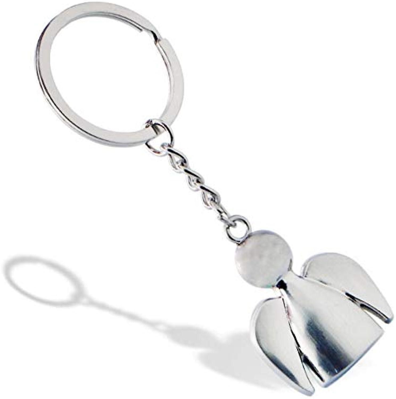 DDOQ Schutzengel Schlüsselanhnger Sonnige Puppe Schlüsselringe
