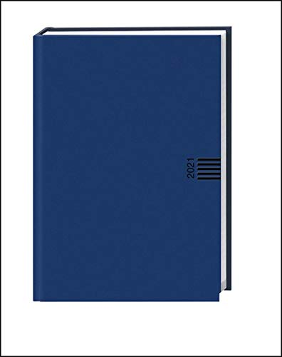 Wochen-Cheftimer A5, blau Kalender 2021