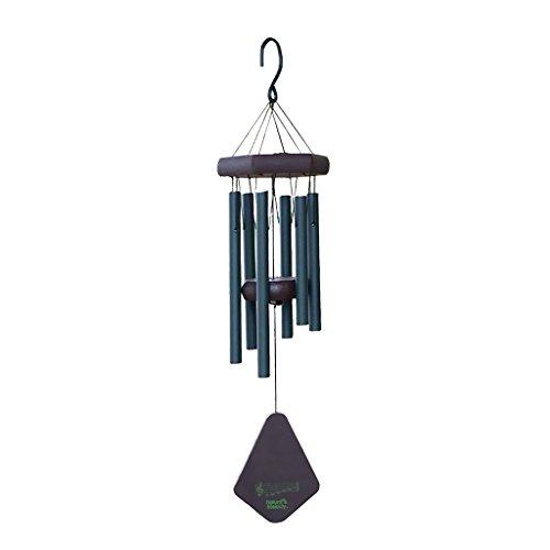 MagiDeal Carillon à Vent 6 Tubes Cloches Métallique Ornements Décoration d'extérieur Jardin Charme - Vert