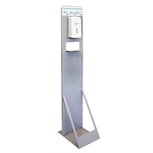 Auto Label Punto Higiénico Estación Higienizante con Dispensador Manual