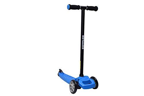 KETTLER KWIZZY | triciclo scooter per bambini | molto facile da guidare | sterzo con spostamento del peso | telaio in alluminio molto leggero | solo 1,9 kg di peso totale | testato TÜV