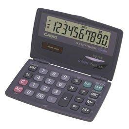 Casio SL 210TE rekenmachine – opengeklapt zo groot als een bureaurekenmachine, met extra groot display en extra groot toetsenbord