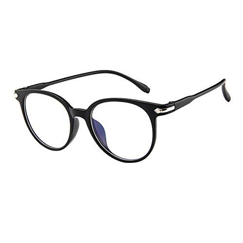 BUZHIDAO Männer Damen Brille Anti Strahlen Brille Mit Blaufilter Als Bildschirmbrille Teenager Studentenbrille Brille Blaulichtfilter Brille Für Damen Und Herren