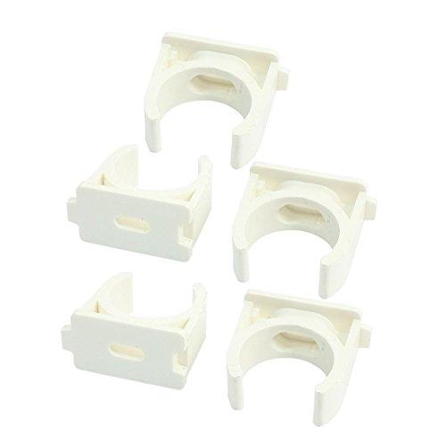 Pinzas para manguera de agua de PVC, 3/4' (25 mm) bandejas de TV, tubo soporte de suspensión de tubo Pex Tubo, 5 unidades
