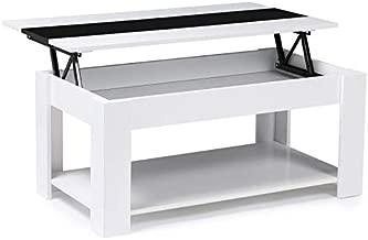 Table Basse Qui Se Transforme En Table Haute.Amazon Fr Table Basse Relevable Cuisine Maison