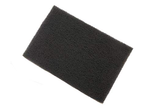 3M (TM) Scotch-Brite (TM) 7448 Hand Pads Ultra Fine Grey Comparable to 00 Steel Wool 6 Inch x 9 Inch (2)
