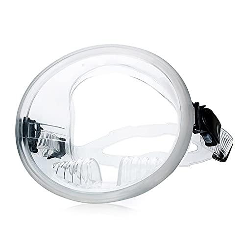 SONG Mascarilla de Snorkel Equipo de Buceo portátil Anti-Niebla y con máscara de Buceo a Prueba de Fugas Equipos Profesionales de Snorkel para Hombres y Mujeres (Cor : Transparent)