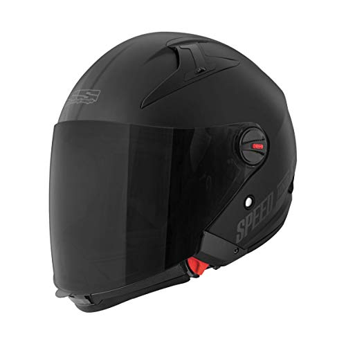 Speed and Strength SS2210 Spin Doctor Adult Street Motorcycle Helmet - Matte Black/Large
